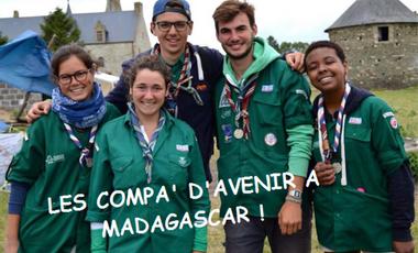 Visuel du projet Les Compa'd'Avenir à Madagascar 2016