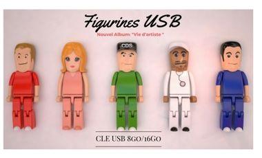 Visueel van project Figurines/clé USB des membres du groupe: Les Chirurgiens Du Son