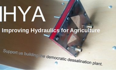 Visueel van project IHYA Improve Hydraulic Yields in Agriculture