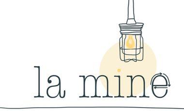 """Visuel du projet La Ressourcerie """"La Mine"""""""