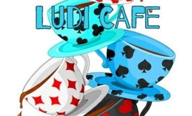 Project visual Ludi café : salon de thé, espace créatif, jeux et détente