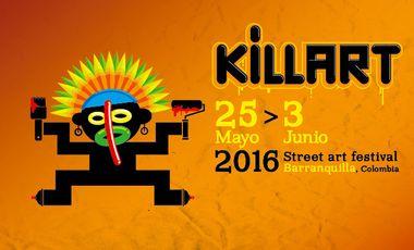 Visuel du projet KILLART street art Festival 2016