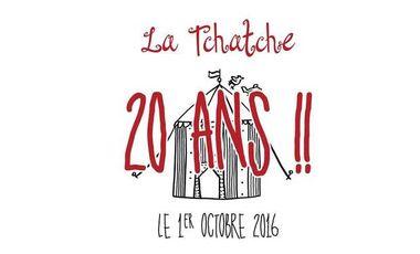 Project visual Le Cabaret des 20 ans de La Tchatche