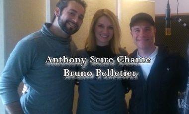 Project visual Anthony Scire chante Bruno Pelletier