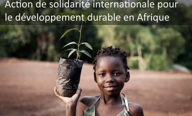 Project visual Action solidaire pour l'environnement en Afrique