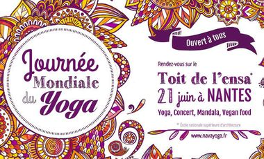 Visueel van project Journée Mondiale du Yoga Nantes