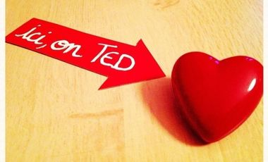 "Visueel van project  ""Ici, on TED"""