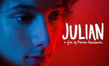 Visueel van project JULIAN, a film by Maxime Fauconnier
