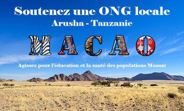 "Visueel van project Soutenez une ONG locale : ""Arusha-Tanzanie"""