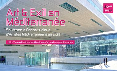 Visueel van project Art & Exil en Méditerranée