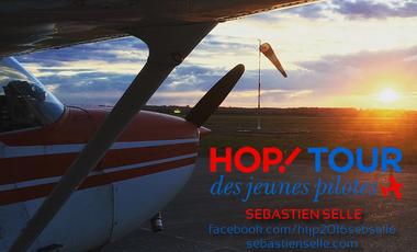Project visual HOP! Tour des Jeunes Pilotes - Sébastien Selle