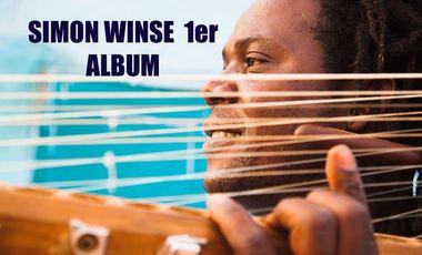 Visuel du projet SIMON WINSE. 1er ALBUM !