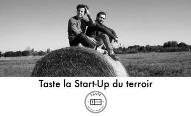 Visueel van project Taste, la start-up du terroir français
