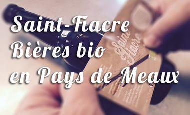 Project visual Saint-Fiacre, bières bio en Pays de Meaux