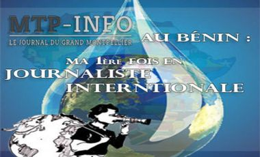 Visuel du projet Mtp-info au Bénin : ma 1ère fois en journaliste internationale