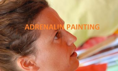 Project visual ADRENALIN PAINTING