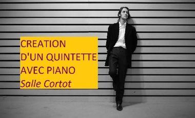 Project visual Création d'un Quintette avec Piano, Salle Cortot