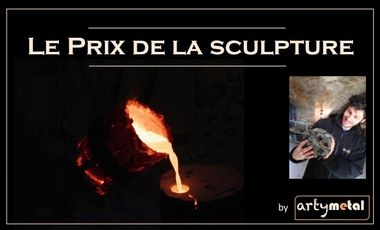 Project visual Le Prix Artymetal de la Sculpture