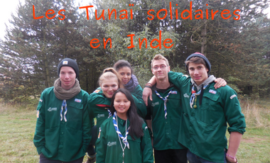 Project visual Projet solidaire scout en Inde :)