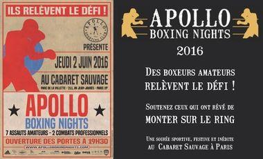 Project visual Apollo Boxing Nights 2016