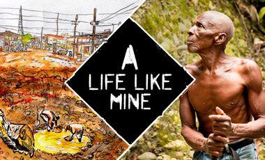 Visueel van project A life like mine