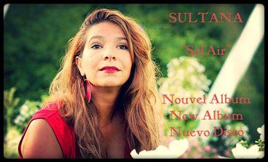 """Visuel du projet Sultana - Enregistrement du nouvel album """"Sol'Air"""""""