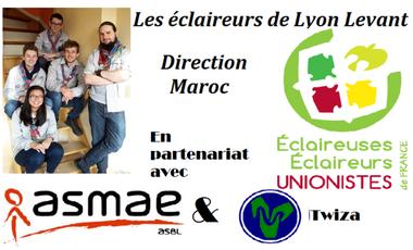 Visuel du projet Aînés de Lyon : Destination Maroc