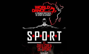 Visuel du projet S.P.O.R.T., the 1st sport show in Africa!