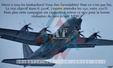 Project visual Objectif HOP! Tour aérien 2016 - TIGNON Alexandre
