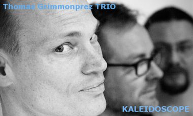 "Visuel du projet THOMAS GRIMMONPREZ TRIO ""KALEIDOSCOPE"""