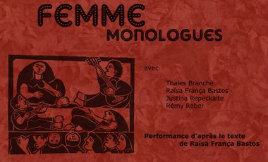Project visual Femme, monologues