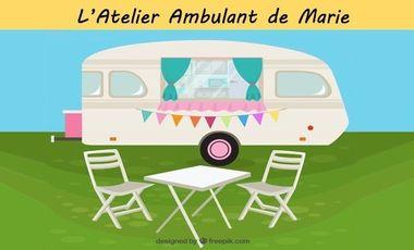 Project visual De Fil en Aiguilles, L'Atelier Ambulant de Marie