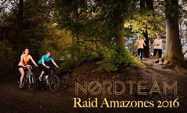 Project visual NordTeam - RAID AMAZONES 2016