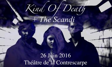 Visuel du projet Concert Rock ! Kind of Death & The Scandi !