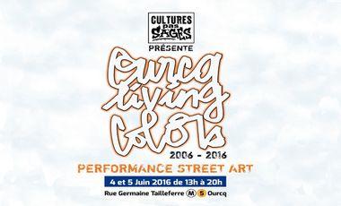 Visuel du projet Festival Street-Art OURCQ LIVING COLORS 10 ans