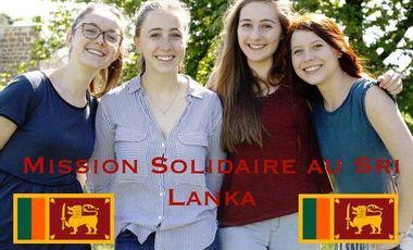 Project visual Mission solidaire au Sri Lanka !