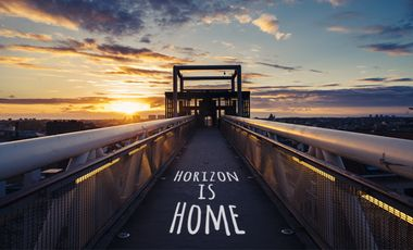 Project visual Horizon is Home