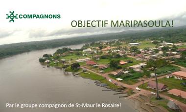 Project visual Objectif Maripasoula !     Projet solidaire par les Compa-rfaits