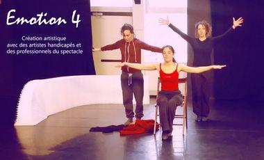 Visuel du projet Emotion 4, un spectacle art et handicap