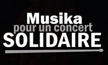 Project visual Concert Solidaire - Musique et Handicap - Musika 2016