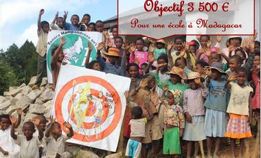Project visual Construction d'une école à Madagascar