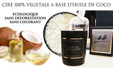 Visuel du projet Cire 100% végétale et parfum Un Soir à l'Opéra : l'accord parfait !