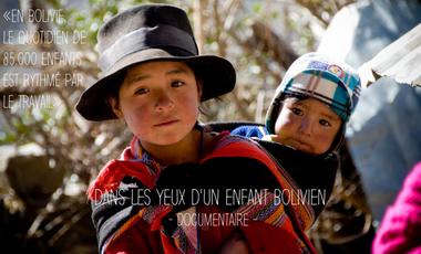 Visueel van project Dans les yeux d'un enfant bolivien