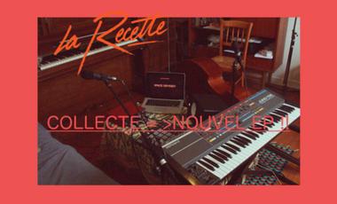 Visueel van project La Recette, nouvel EP