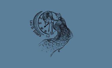 Visuel du projet Les Raisins Secs - Les 5 lunes - 2eme Album