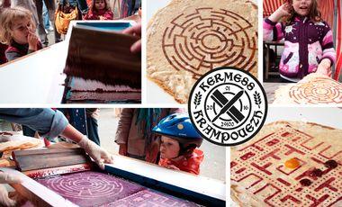 Visuel du projet KERMESS KRAMPOUEZH - CONCOURS INTERNATIONAL DE SÉRIGRAPHIE SUR CRÊPES