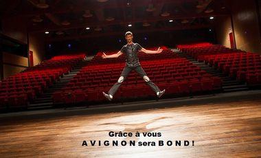 Visueel van project Participez au financement de Patrik COTTET MOINE au festival OFF d'Avignon