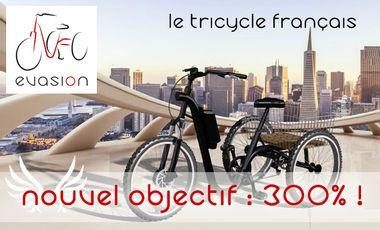 Project visual Evasion, le tricycle électrique français