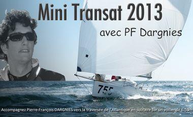 Project visual Mini Transat 2013 avec PF Dargnies