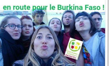Visuel du projet En route pour une aventure enrichissante au Burkina Faso !